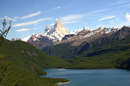 Fitz Roy mountain in Argentina.  Simply breathtaking.