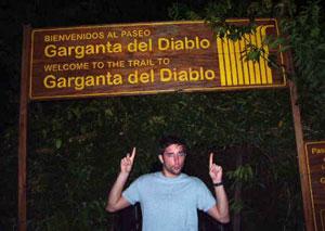 Devil's Throat night tour at Iguazu Falls