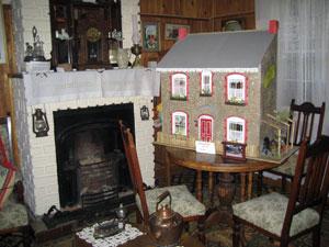 The museum-like tea house in Gaiman.