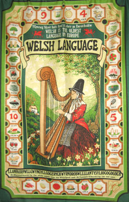 Gaiman welsh language sign