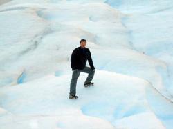 Hiking on El Perito Moreno Glacier