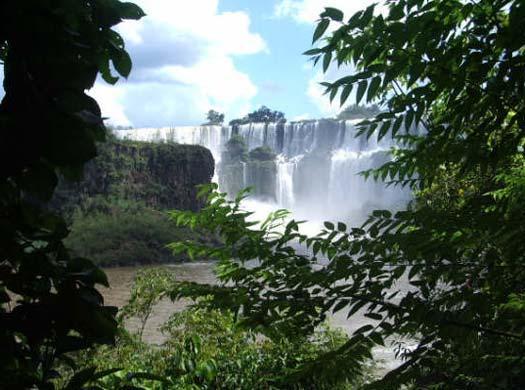 Iguazu Falls, not by moonlight.