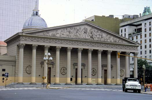 La Catedral Metropolitana in Buenos Aires, Argentina