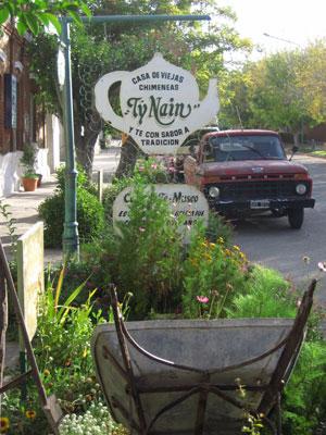 The Ty Nain tea house in Gaiman, where we ate