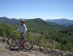 Biking in San Martin de Los Andes