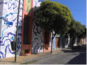 Calle Lanin, Buenos Aires