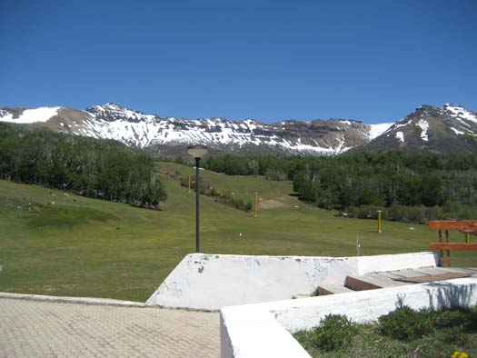 Cerro Chapelco in the summer, by San Martin de Los Andes