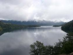 The Seven Lakes Crossing in Patagonia, Argentina