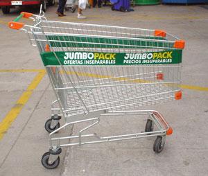 Jumbo supermarket in Buenos Aires