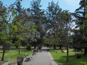 Parque las Heras in Palermo