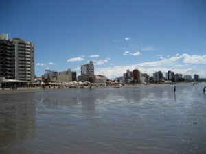 A nice beach in Puerto Madryn