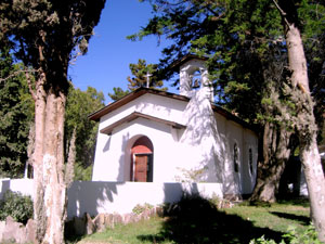 The church at Villa Florentino Ameguino