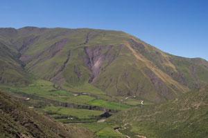 An expansive view of Salta, Argentina