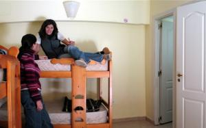 A shared room at the Hostel del Glaciar Libertador
