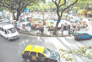 Plaza Serrano Street Fair in Palermo