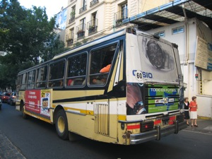 A Buenos Aires bus.