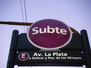 Subte Parque Chacabuco Avenida La Plata Buenos Aires Argentina