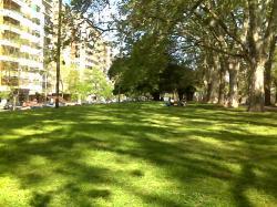 Parque Chacabuco Buenos Aires Argentina on Spring