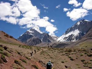 aconcagua trekking mendoza Argentina
