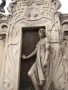Recoleta Cemetery Buenos Aires Argentina Rufina Cambaceres