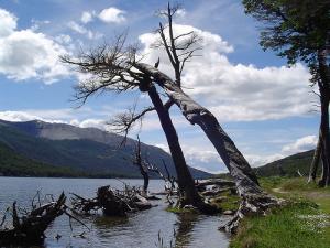 laguna escondida tierra del fuego argentina