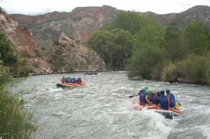 Rafting in Mendoza Argentina