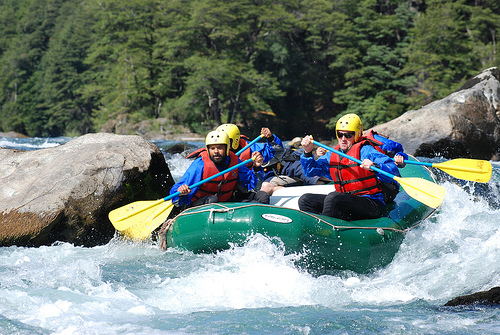 Rafting in Argenitna