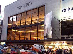 Teatro Gran Rex Buenos Aires Argentina