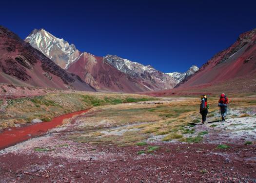 Trekking in Argentina