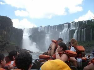 Boat Tour in Iguazu