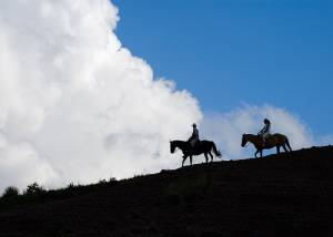 Riding the Ridge at Estancia dos Lunas