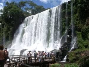 The Falls at Iguazu
