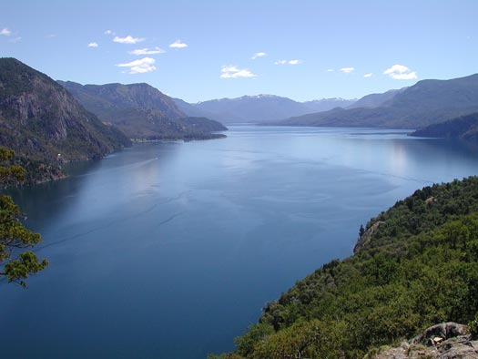 Lago Lacar by San Martin de los Andes, viewed from a nearby hike.