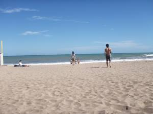Beach in Mar del Plata