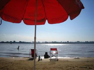 Beach in Rosario