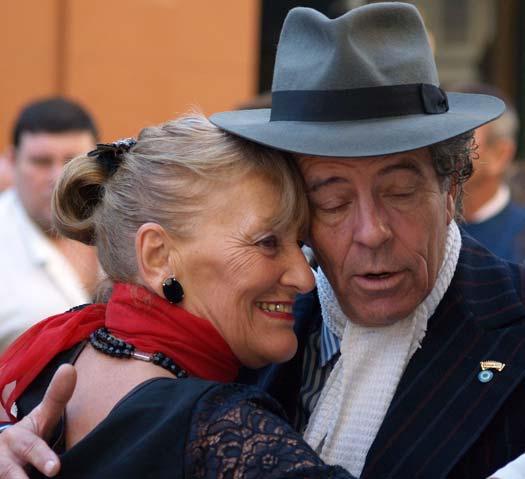 Los Tangueros in San Telmo - Buenos Aires