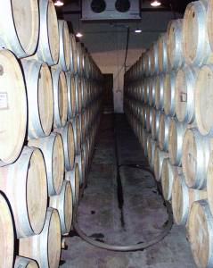 Wine Casks in Mendoza